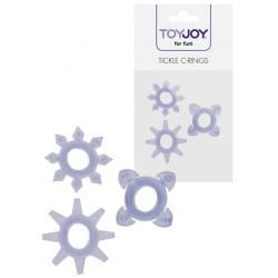Tickle C-Rings Purple