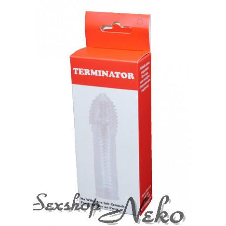 Návlek na penis Terminátor