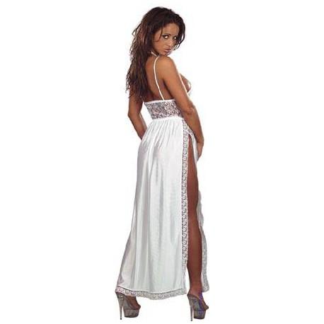 Nightdress With Splits Xl
